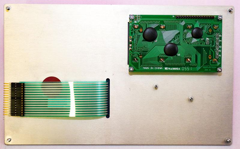 Folientastatur inkl. Display