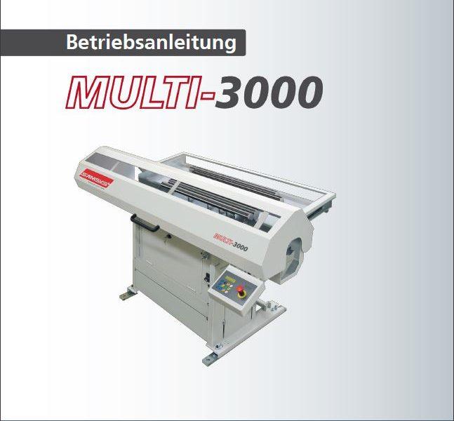 Betriebsanleitungen deutsch